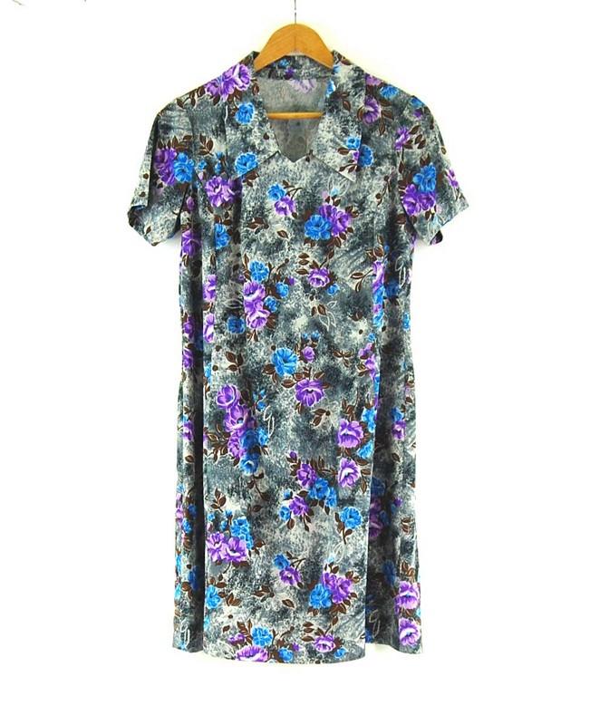 60s Floral Dress