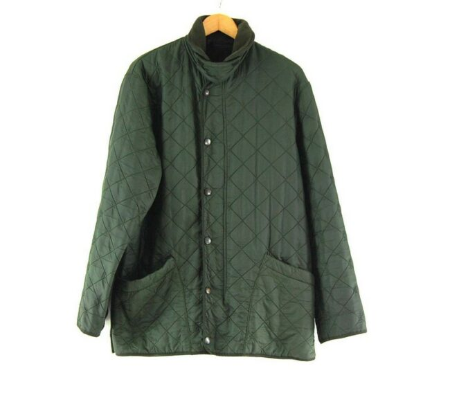 Barbour Quilted Jacket Dark Green