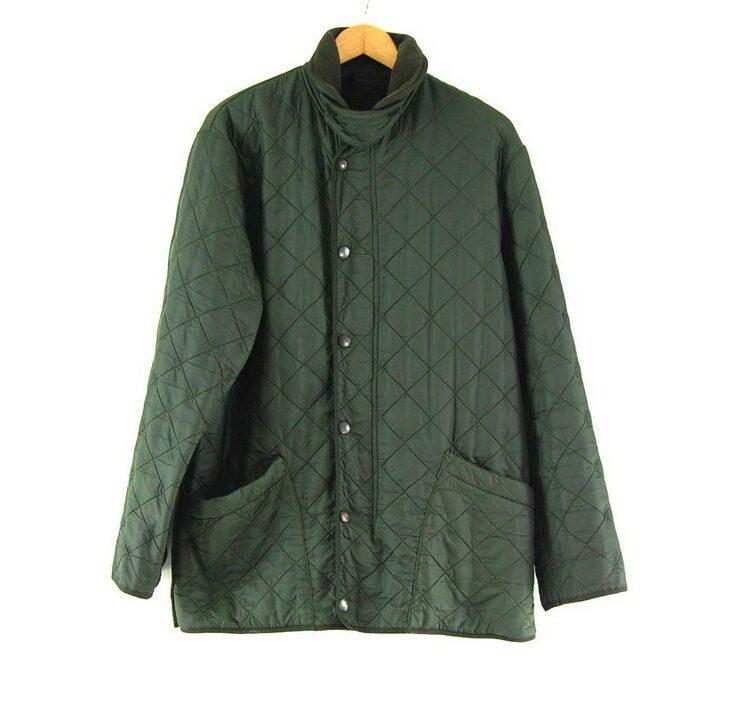 Barbour Quilted Jacket Dark Green