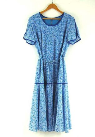 70s Tie Waist Dress