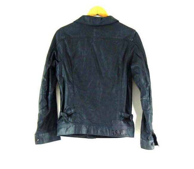 Back of Mens Blue Quicksilver Reversible jacket