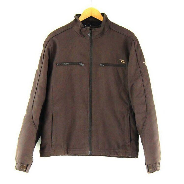 Mens Brown Rip Curl jacket