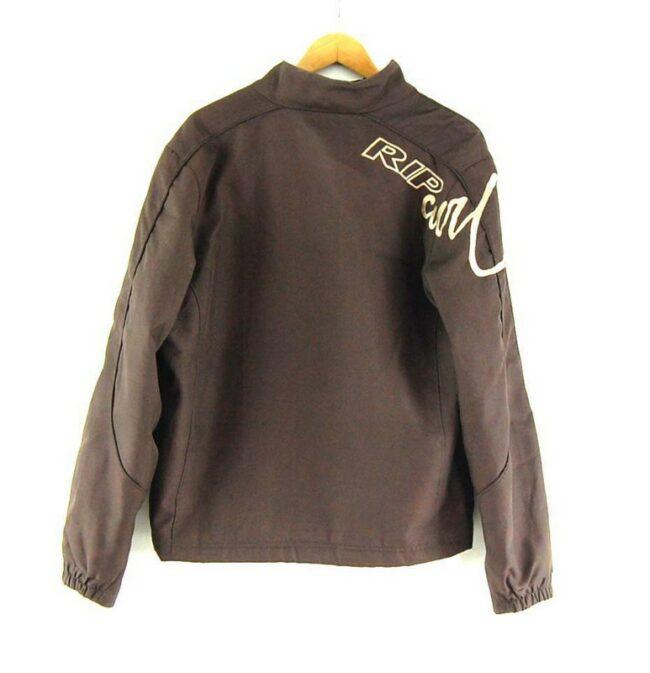 Back of Mens Brown Rip Curl jacket
