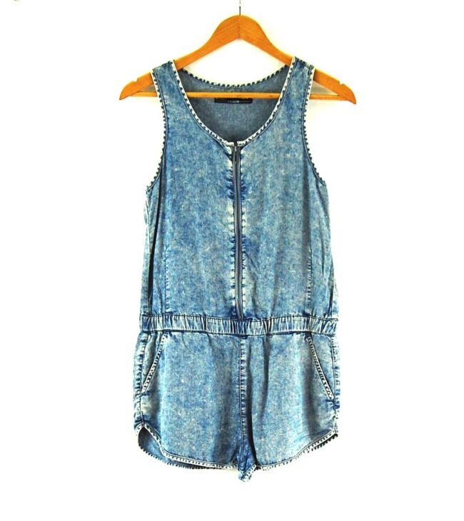 90s Denim Playsuit
