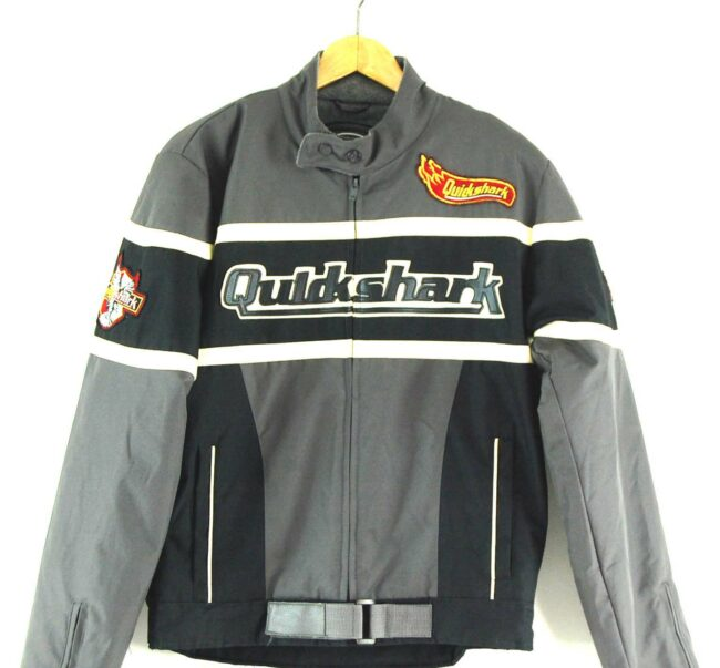 Quickshark Biker Jacket Close Up