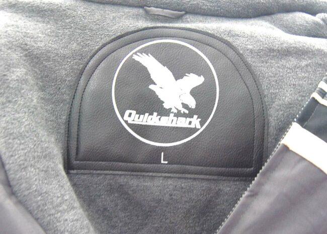 Quickshark Biker Jacket Label
