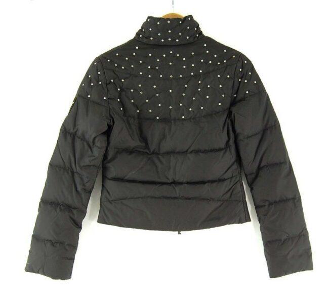 Back of Black Liu Jo Puffer Jacket