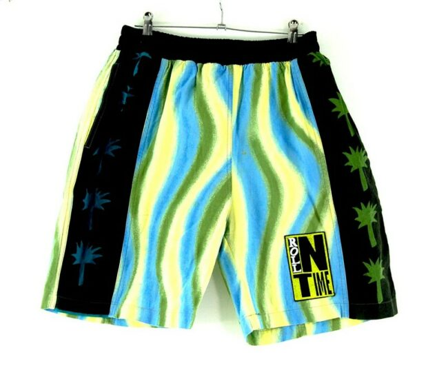 90s Style Beach Shorts