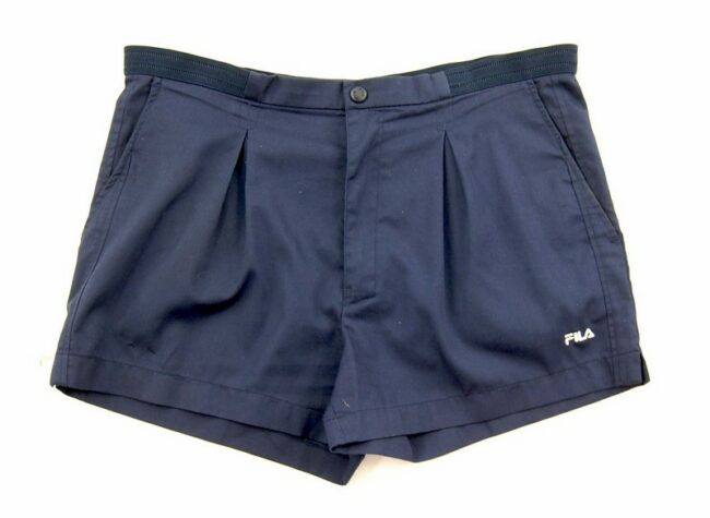 Navy Blue Fila Vintage Shorts