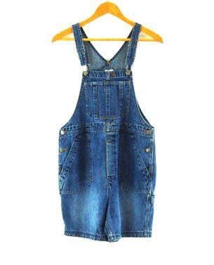 90s Dungaree Shorts
