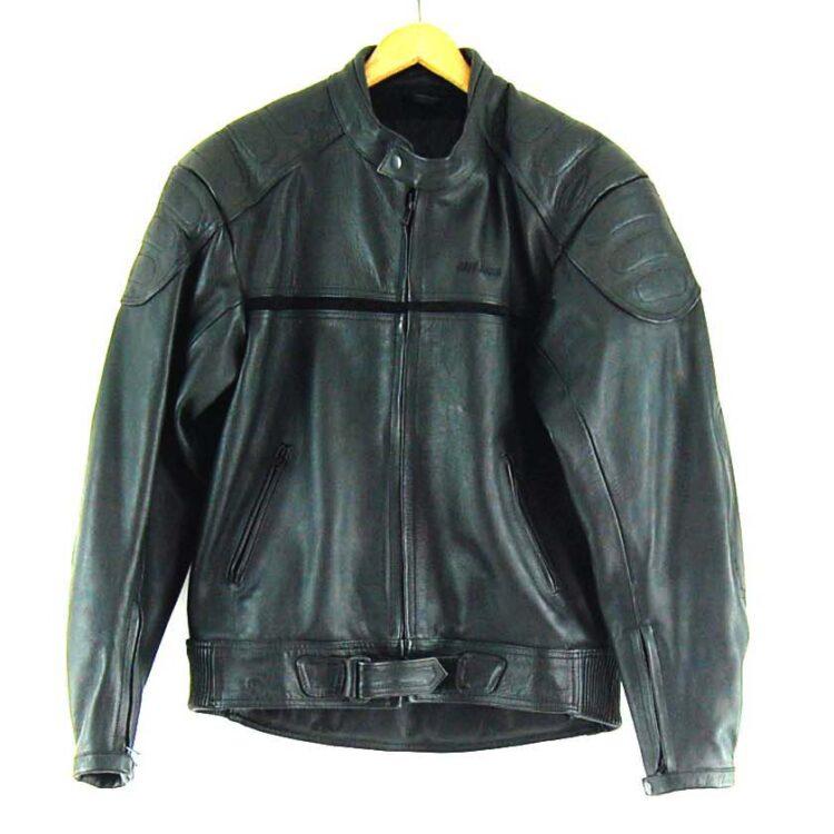 Cafe Racer Leather Biker jacket