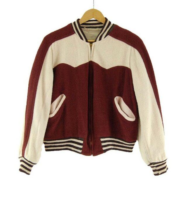 50s Reversible Vintage Baseball Jacket