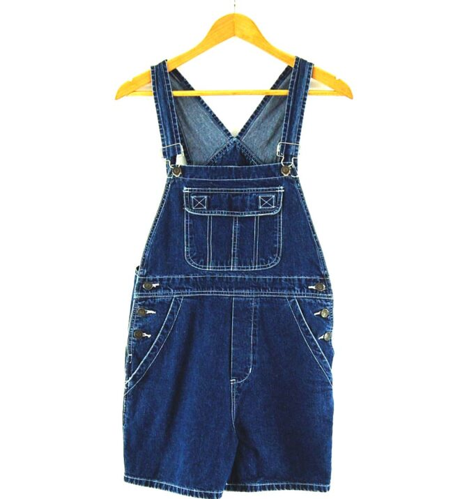 Urban Star Dark blue denim dungarees