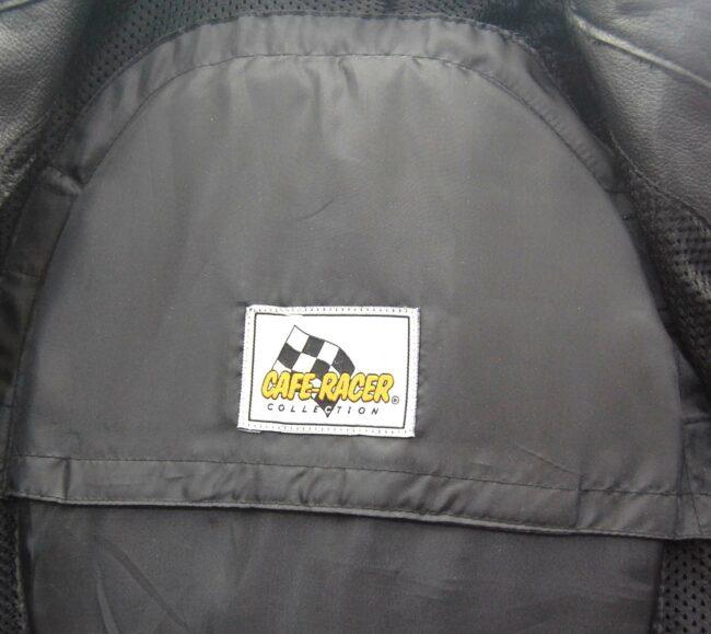 Cafe Racer Leather Biker jacket Label