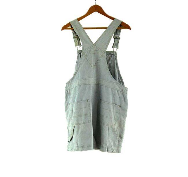Back of Rue 21 Denim Dungaree Shorts
