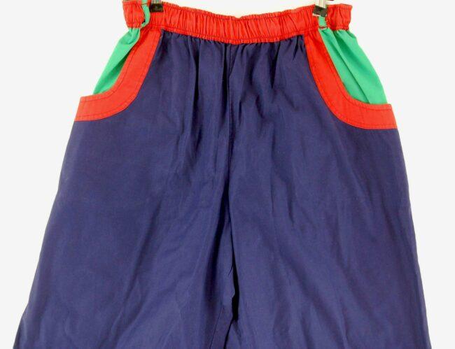 Close up of 90s Mens Casual Shorts