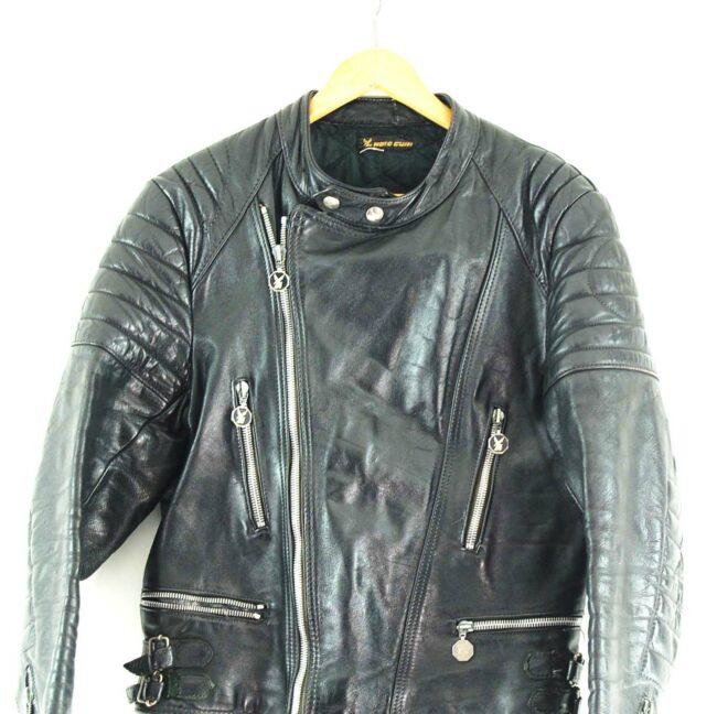 Moto Cuir Biker jacket Close Up
