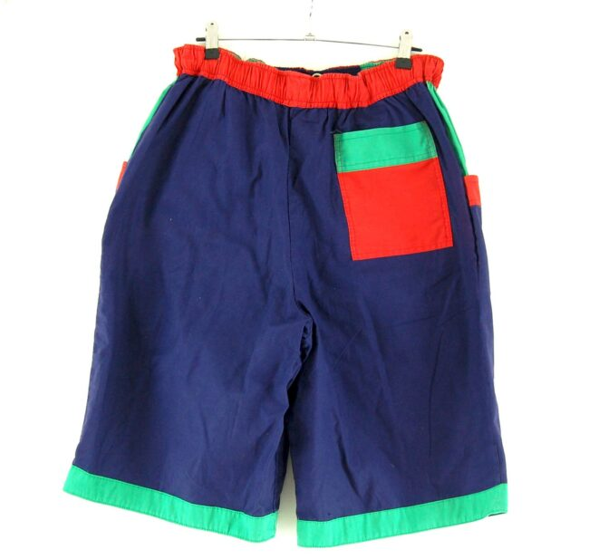 Back of 90s Mens Casual Shorts