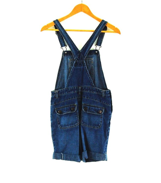 Back of 90s Old Navy Overall Shorts
