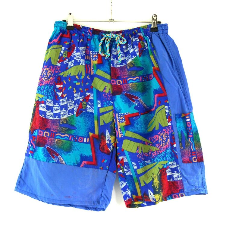 90s Printed Shorts For Men