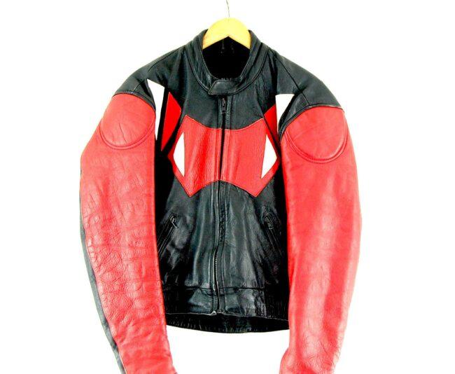 Ghibli Force Biker Jacket Close Up