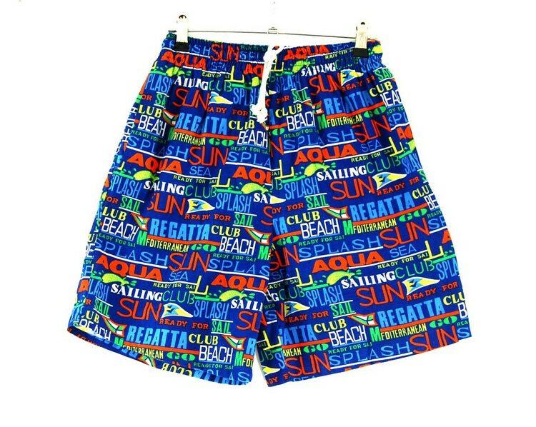 90s Mens Summer Shorts