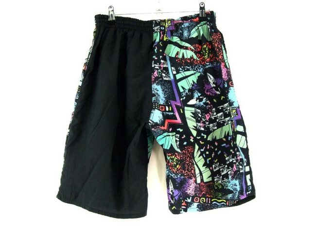 90s Mens Patterned Shorts