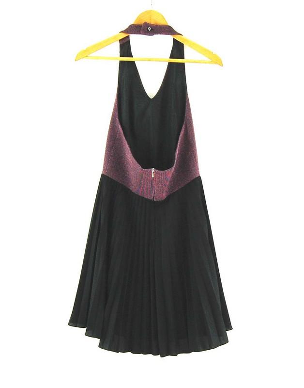 Back of 70s Halter Dress