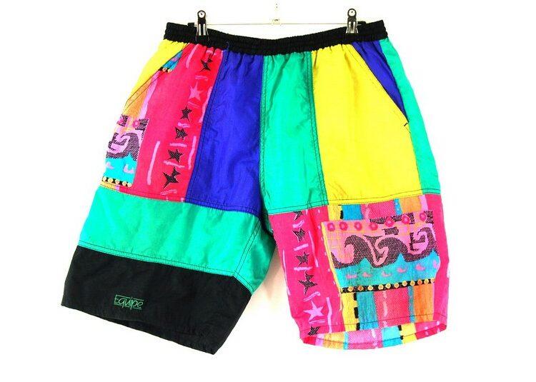 Mens Equipe Retro Shorts