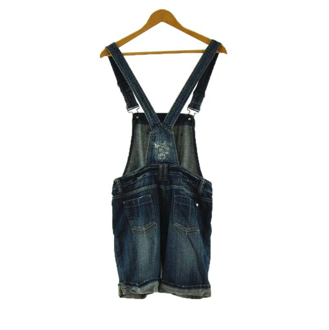 Back of For That 90s dungarees look