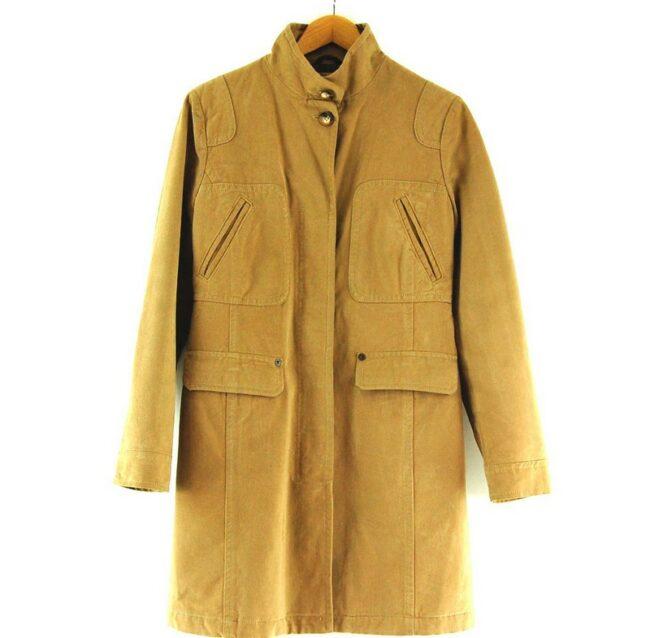 Womans Tan Marlboro Classics Coat