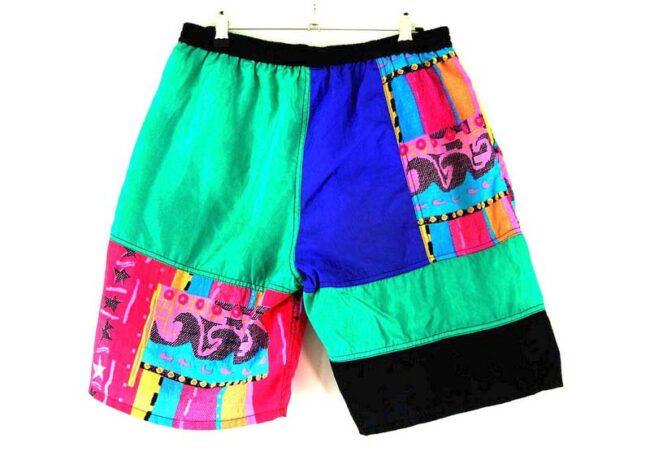 Back of Mens Equipe Retro Shorts