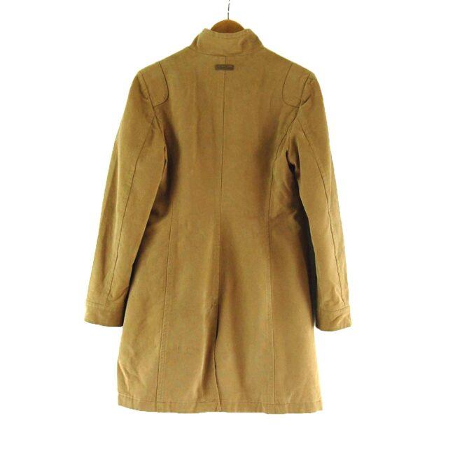 Back of Womans Tan Marlboro Classics Coat