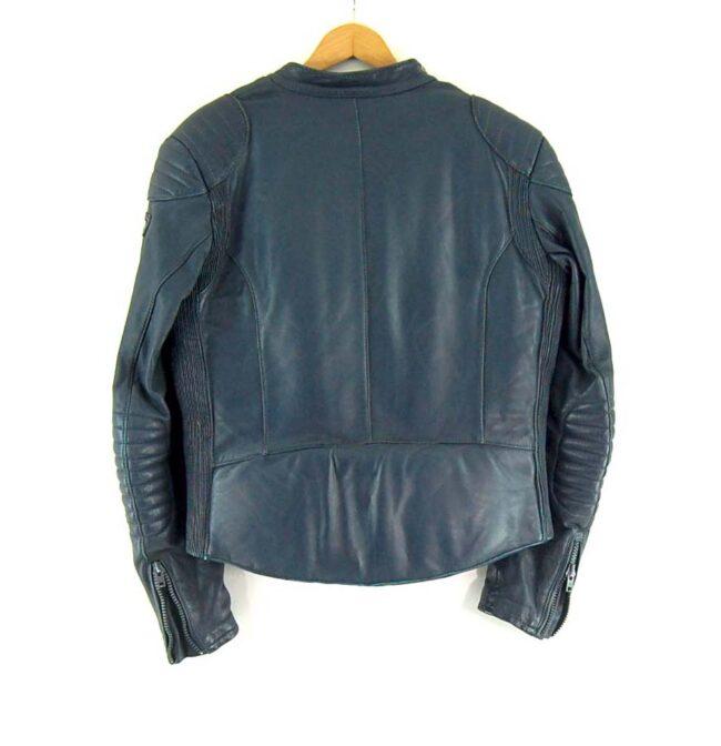 Polo Leather Biker Jacket Back