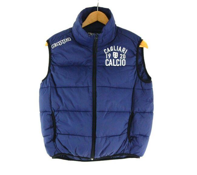 Dark Blue kappa Puffer Vest