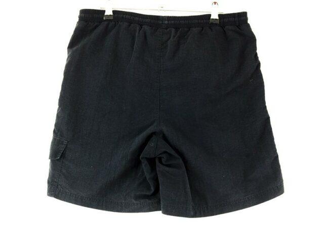 Back of Black Adidas Shorts Mens