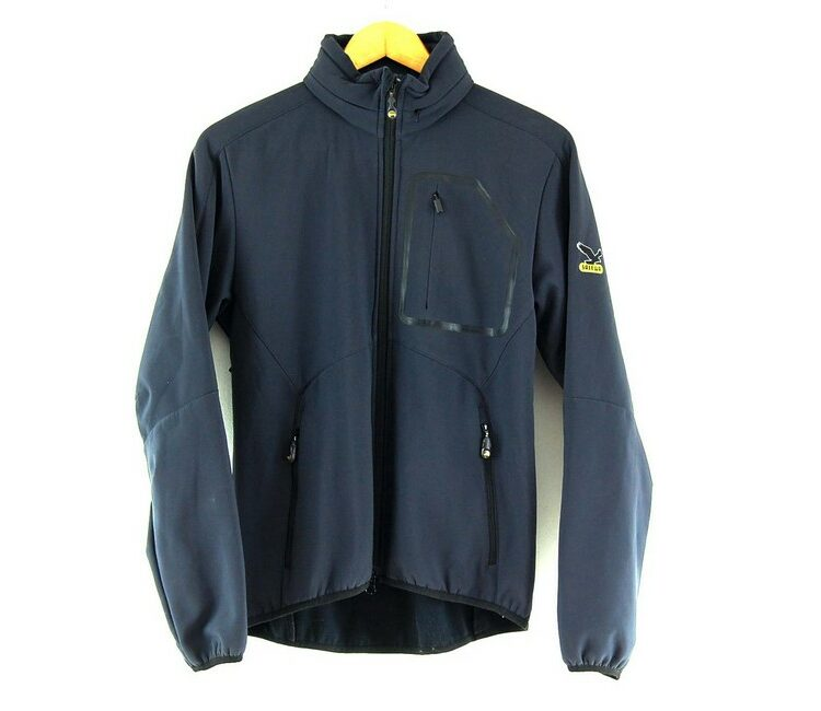 Ladies Grey Alpine Extreme Zip Through Salewa Jacket