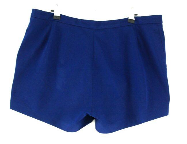 Back of Blue Adidas Mens Shorts