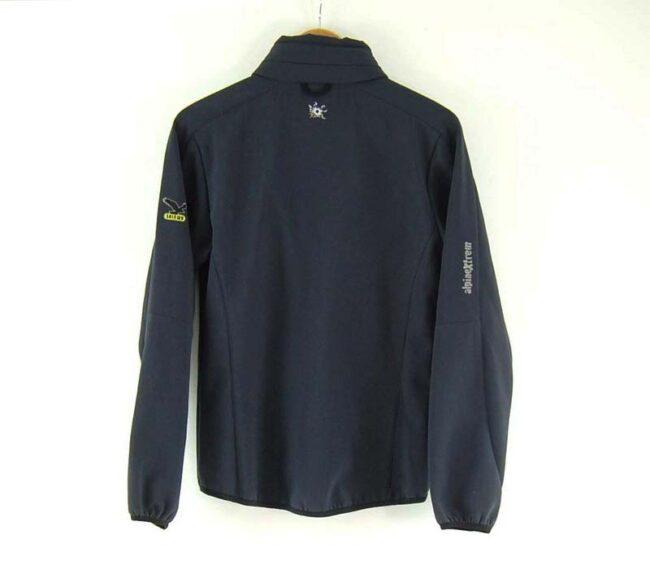 Back of Ladies Grey Alpine Extreme Zip Through Salewa Jacket