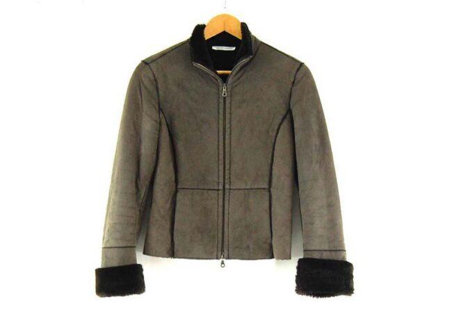 Liu Jo Faux Fur Jacket in Brown