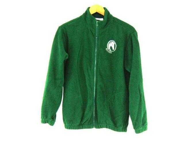 Green Mustangs Retro Fleece Mens