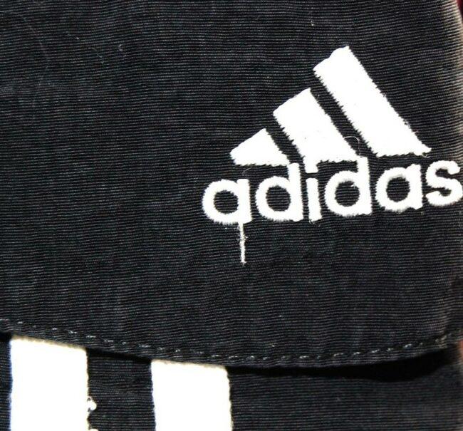 Close up of Black Adidas Shorts Mens