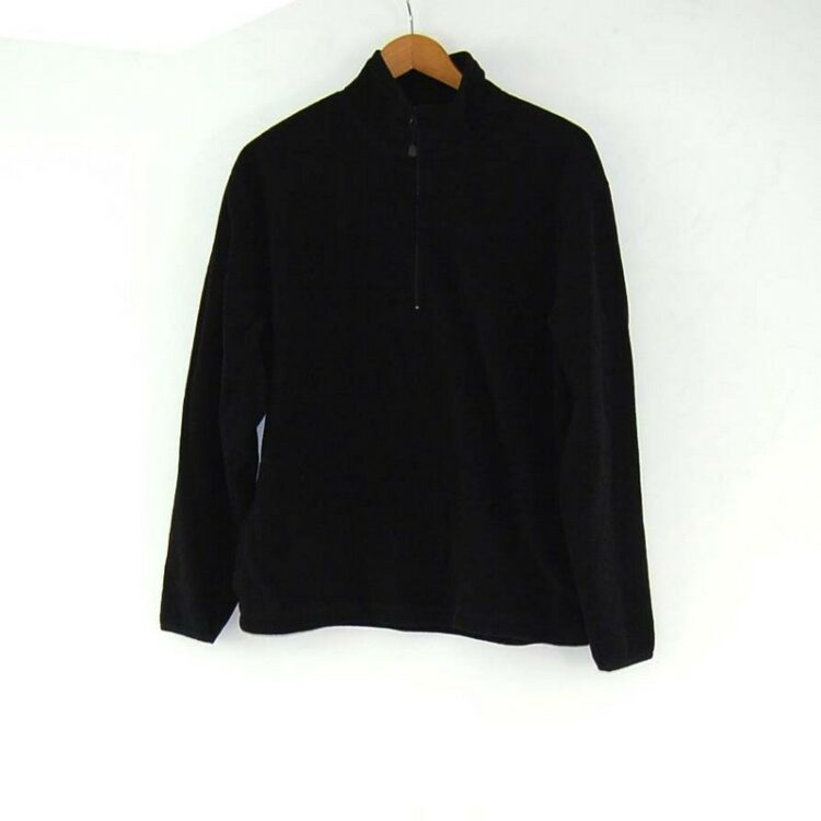 Old Navy Black Zip Fleece