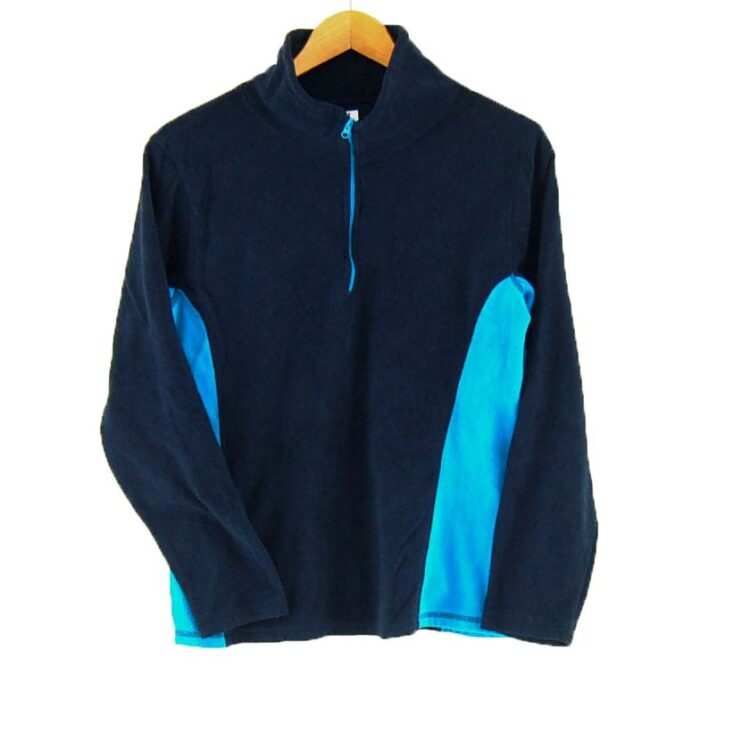 Paneled Old Navy fleece jacket
