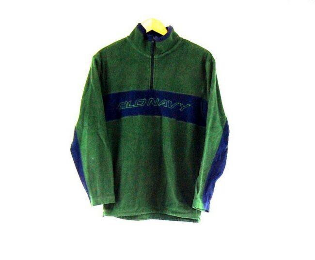 Old Navy Green 1 4 Zip Fleece