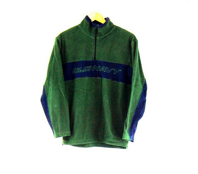 Old Navy Green 1 4 Zip Fleece