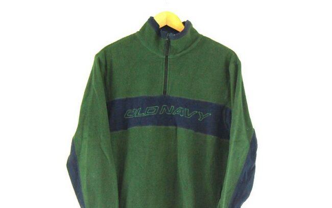 lose up Old Navy Green 1 4 Zip Fleece