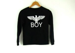 Ladies Crew Neck Boy London Sweatshirt