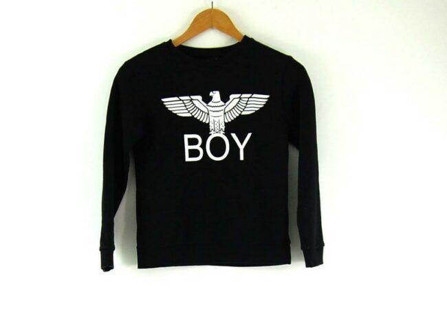 Ladies Crew Neck Boy London Sweatshirt