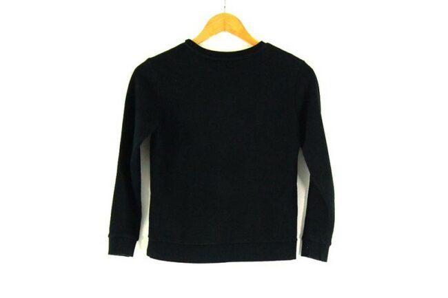 Back of Ladies Crew Neck Boy London Sweatshirt